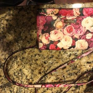 Kate spade flower design purse